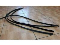 Lexus is200 black roof gutter rubber strip pair 98-05 breaking spares can post is 200 is300 altezza