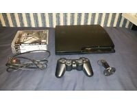 Playstation 3, Wireless Headset & 4 Games