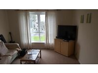1 bedroom furnished flat in quiet location with own parking space. (no DSS/HB sorry)