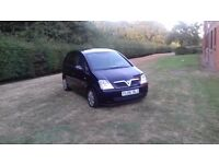 Vauxhall meriva automatic 64000 miles 2 owners from new