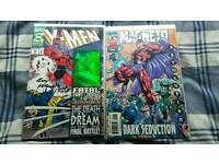 2 Signed X-Men Comics