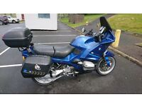 Great bike, serviced regularly, garaged, lots of luggage space, very reliable.
