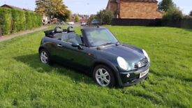 Mini Cooper Cabriolet 1.6 British Racing Green (6 speed conversion)
