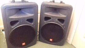 """Very powerful JBL EON15"""" Active Speakers ( 2 )"""