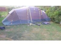 Khyam 400 Tourer 4 Person quick erect tent