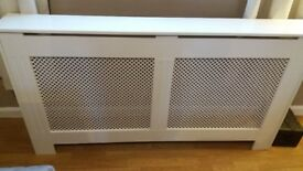 White radiator cover 150cm