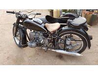 Old motorcycles, retro