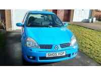 Clio 182 sport cup low miles