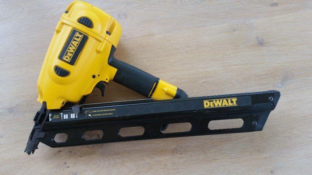 DeWALT D51823 34° Clipped Head Framing Nailer | in St Austell ...