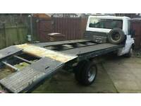 2001 ford transit lwb beavertail recovery