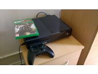 Xbox One 500gb console for sale with 3 games