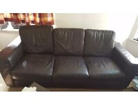 3 seater sofa and two tables - Selling CHEAP