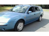 Mondeo diesel estate long mot