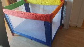 Mother care travel cot or playpen