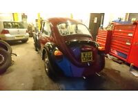 1974 Classic VW Beetle 1300 Barn Find SOLD