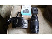 Canon eos 400d with 2 lenses