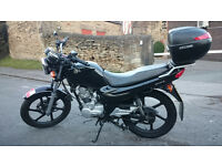 125cc Motorcycle, Sym XS125k (MOT until 01/09/2017)