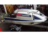 Kawasaki JS550 Jet Ski with trailer