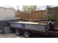 Ifor williams trailer twin axel 10x6.6