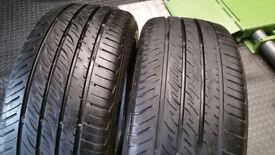 215 50 17 2 x tyres Green Plus