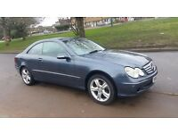 MEREDES BENZ CLK AUTOMATIC, 114K MILES, LPG CONVERTED, FULL LEATHER AND ELECTRIC, HPI CLEAR, LONG MO