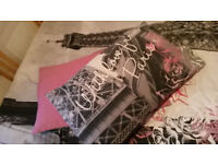 'With love from Paris' Reversible Duvet + 2 pillow cases Bedding Set