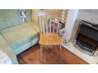 Vintage Retro Style Ercol Style Country Cottage Windsor Style Chair Bedside Dining Chair