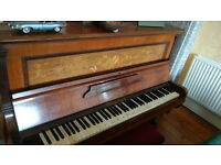 Piano for Free! A Waldemar Berlin - always slightly off perfect pitch due to age -