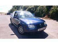 VW (Volkswagen) Bora 1.8T Sport (turbo) 5 door petrol saloon for quick sale: £500. Brand new MOT!!