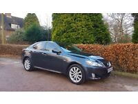 2006 LEXUS IS220D GREY LEATHER NATIONWIDE DELIVERY CREDIT CARD FACILITY GURANTEED £200 PX VALUE