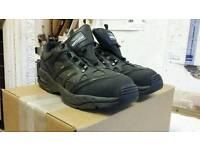 Trojan size 10 uk steel toe work shoes