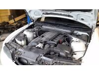 BMW e46 2.5 engine