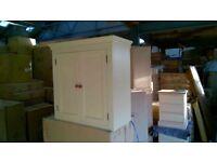wall cabinet 600-1150mm - handmade - bespoke - solid wood - pine - oak - kitchen unit - tulip wood