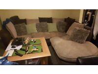 Large corner sofa for quick sale