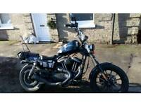 Harley davidson sportster iron 2012 1200 chopper bobber custom registered as 883