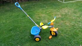 Childs push along trike for sale. £10