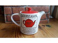 Edward Monkton 'The Teapot of Life'