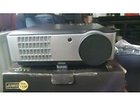 LED PROJECTOR HDX A60 3000 ANSI Lumens 1280X800 (Digital TV - Freeview) BOXED