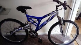 Mountain Ridge Plasma 21-speed Full Suspension Cycle / Bike 18''