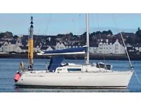 FIRST 285 SAILING CRUISER GREAT PACKAGE YACHT £14950