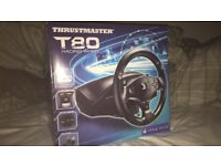Thrustmaster T80 Racing Wheel PS3, PS4, PC