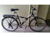 Btwin hybrid bike