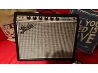 Fender 68 Princeton reverb reissue amplifier