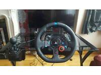 Logitech G29 Driving Force - Racing wheel, Pedals & Gear Shift - with Driveclub & Project Cars