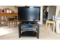Digital TV, DVD Player and stand