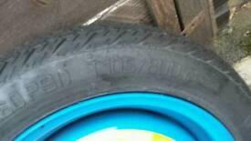 4 stud spare wheel