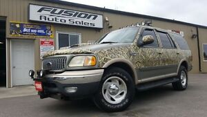 1999 Ford Expedition XLT-4x4-LEATHER-SUNROOF-THIRD ROW-TOW PKG