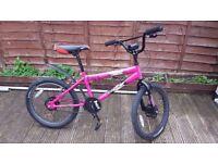 20inch wheels BMX style Bike