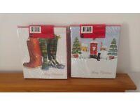 Christmas xmas cards 2 x 12