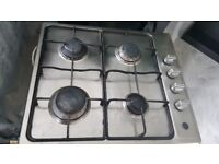 Gas cooker and electric oven